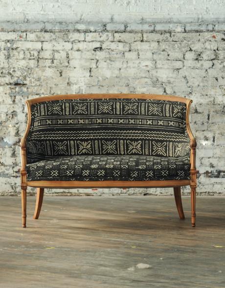Clarke Fabric Sectional Sofa Living Room: Clark Loveseat
