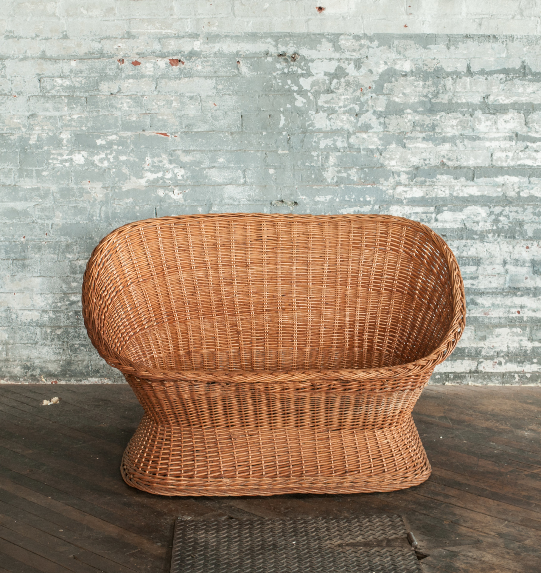 gemma wicker loveseat