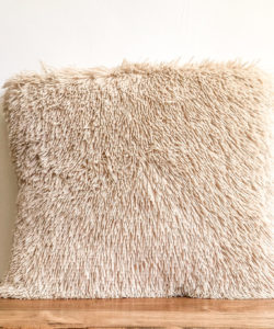 Natural Fringe Pillow
